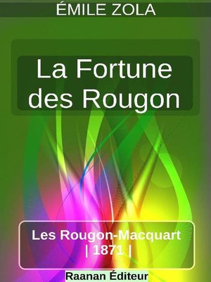 cover image of La Fortune des Rougon