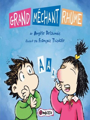 cover image of Grand méchant rhume