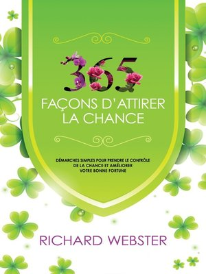 cover image of 365 façons d'attirer la chance
