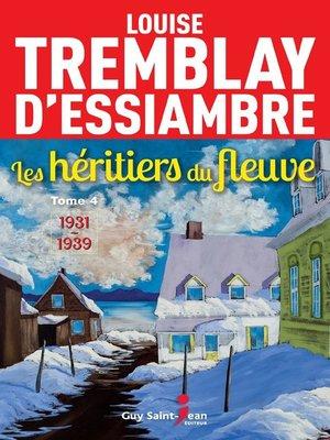 cover image of Les héritiers du fleuve, tome 4