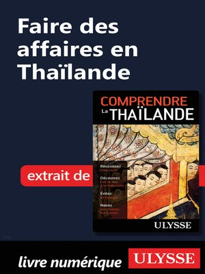 cover image of Faire des affaires en Thaïlande