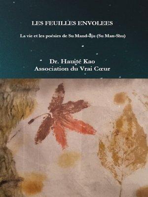 cover image of Les Feuilles envolées