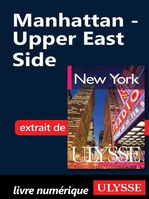 cover image of Manhattan--Upper East Side