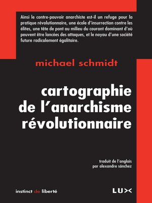 cover image of Cartographie de l'anarchisme révolutionnaire