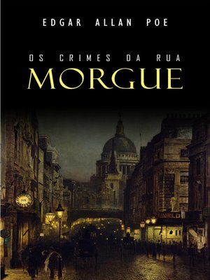 cover image of Os Crimes da Rua Morgue