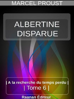cover image of ALBERTINE DISPARUE