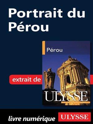 cover image of Portrait du Pérou