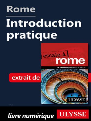 cover image of Rome--Introduction pratique