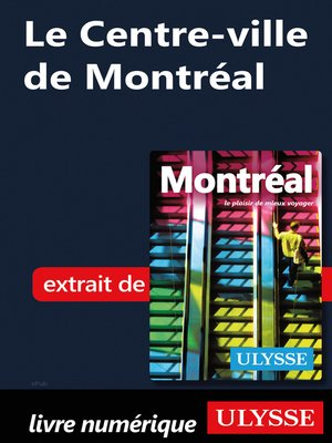 cover image of Le Centre-ville de Montréal