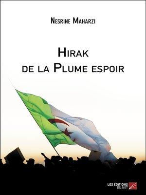 cover image of Hirak de la Plume espoir