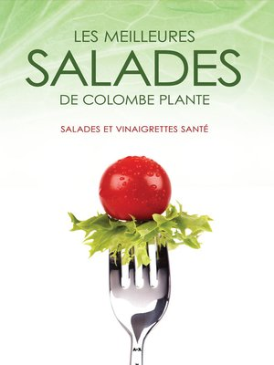 cover image of Les meilleures salades de Colombe Plante