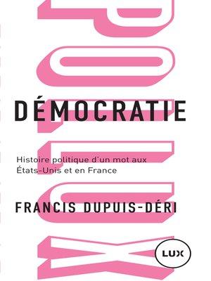 cover image of Démocratie