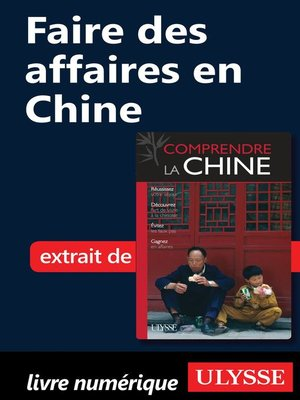 cover image of Faire des affaires en Chine