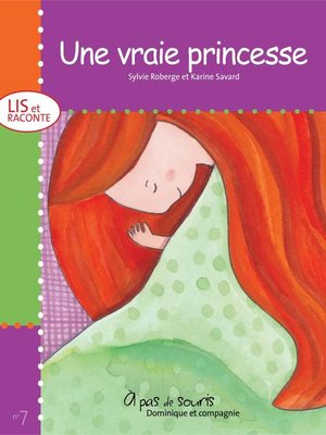 cover image of Une vraie princesse