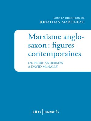 cover image of Marxisme anglo-saxon