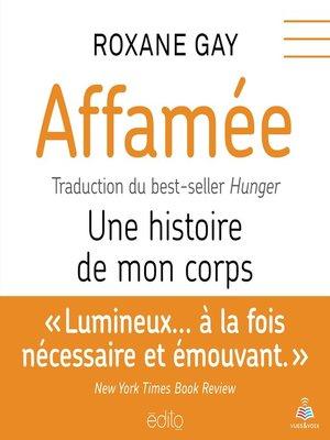 cover image of Affamée