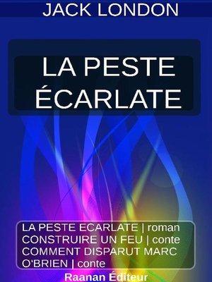 cover image of LA PESTE ÉCARLATE
