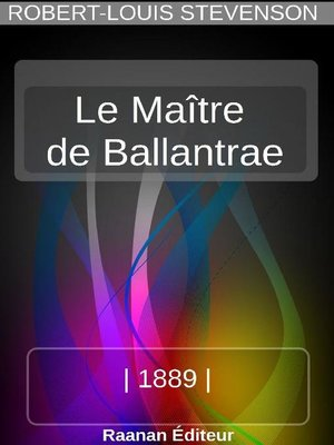 cover image of Le Maître de Ballantrae