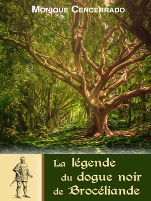 cover image of La légende du dogue noir de Brocéliande