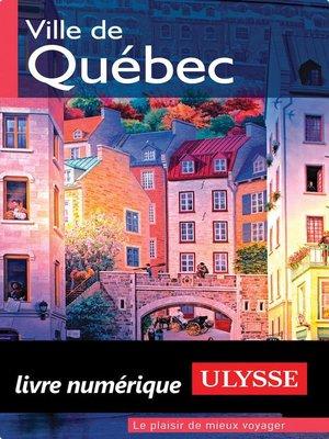cover image of Ville de Québec