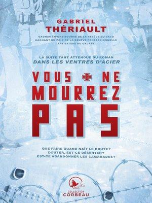 cover image of Vous ne mourrez pas