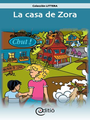 cover image of La casa de Zora