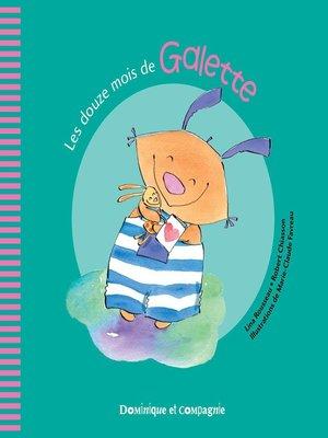 cover image of Les douze mois de Galette