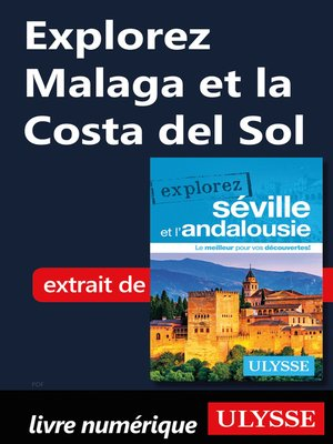 cover image of Explorez Malaga et la Costa del Sol
