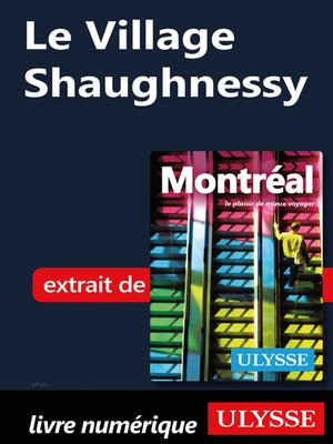 cover image of Le Village Shaughnessy