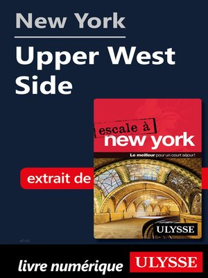 cover image of New York--Upper West Side