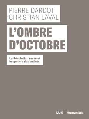 cover image of L'ombre d'Octobre