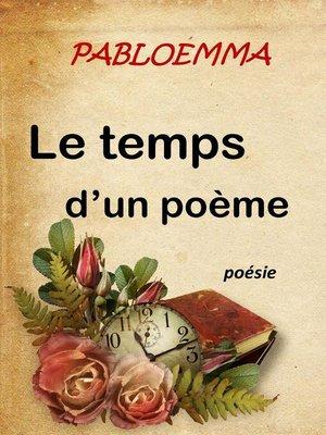 cover image of Le temps d'un poème