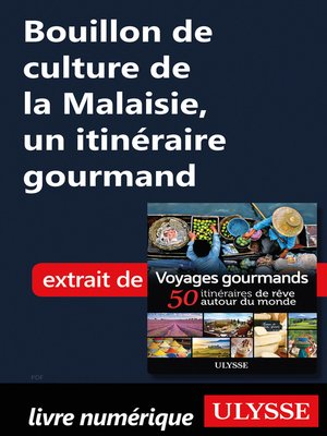 cover image of Bouillon de culture de la Malaisie, un itinéraire gourmand