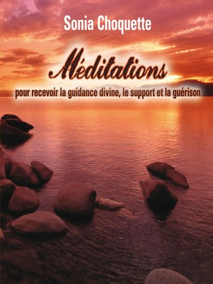 cover image of Méditations pour recevoir la guidance divine, support et guérison