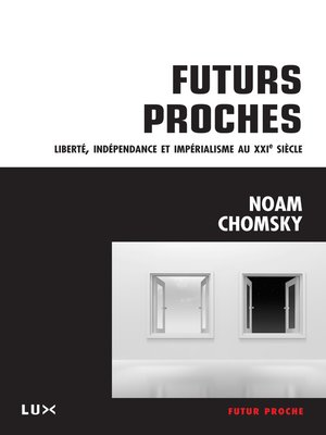 cover image of Futurs proches
