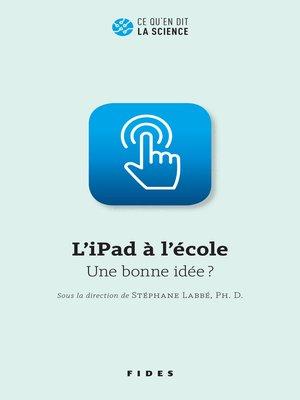 cover image of L'iPad à l'école