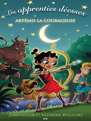 cover image of Artémis la courageuse