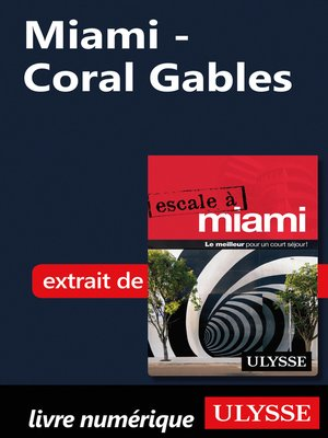 cover image of Miami--Coral Gables