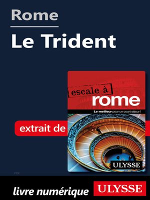 cover image of Rome--Le Trident
