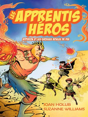 cover image of Hypérion et les grosses boules de feu