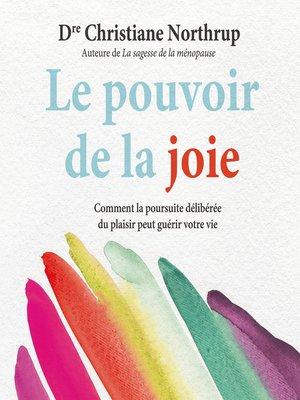 cover image of Le pouvoir de la joie