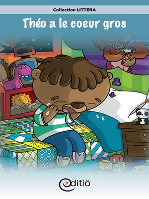 cover image of Théo a le coeur gros