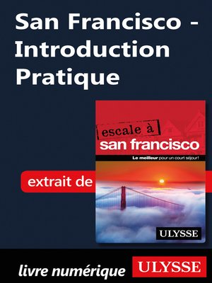 cover image of San Francisco--Introduction Pratique