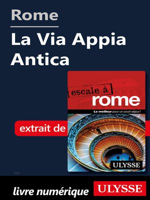 cover image of Rome--La Via Appia Antica