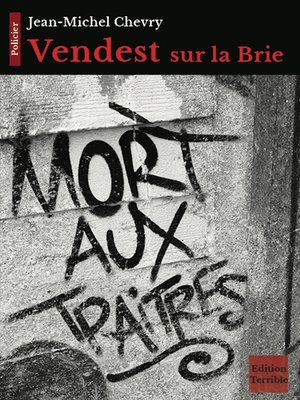 cover image of Vendest sur la Brie