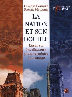 cover image of La Nation et son double