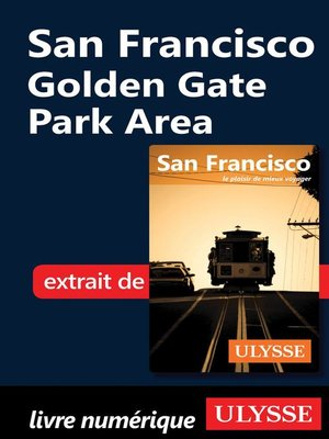cover image of San Francisco--Golden Gate Park Area