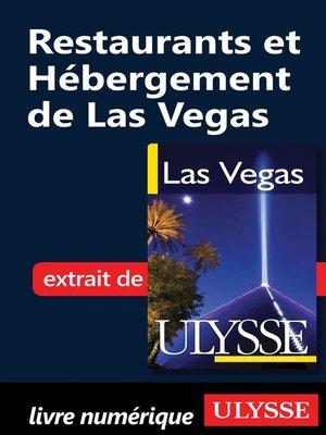 cover image of Restaurants et Hébergement de Las Vegas