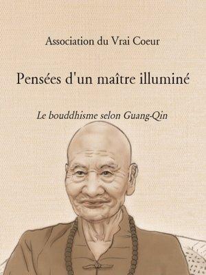 cover image of PENSÉES D'UN MAÎTRE ILLUMINÉ