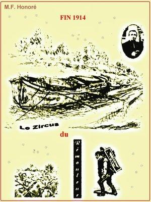 cover image of LE ZIRCUS DU RÉMOULEUR.